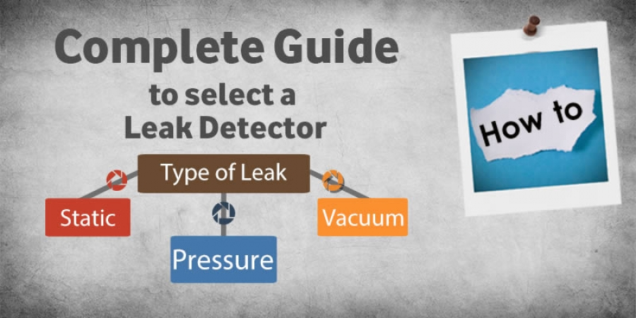How to select a leak detector